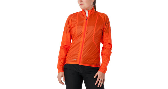 Giro Wind Jacket Women glowing red